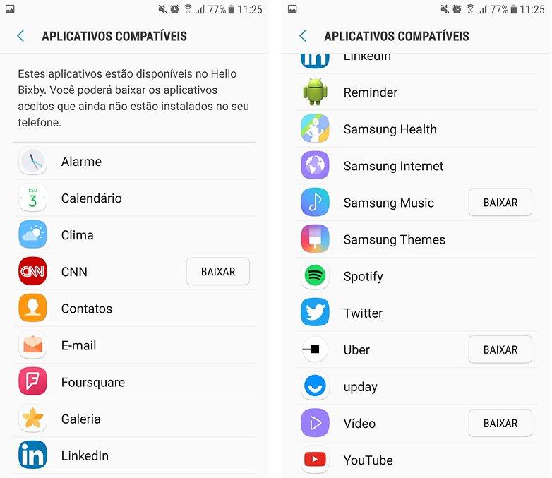 bixby pt assistente samsung apps suporte 1