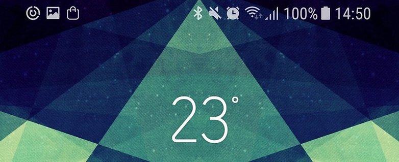 exemplo icones samsung galaxy