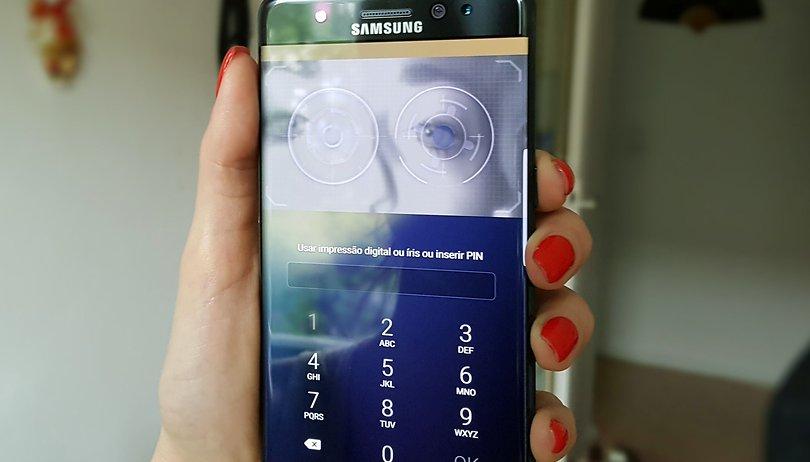 Porque desisti de usar o scanner de íris do Galaxy Note 7 em menos de 24 horas