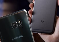 Pixel XL vs Galaxy Note 7: mesmo sistema operacional, experiências opostas
