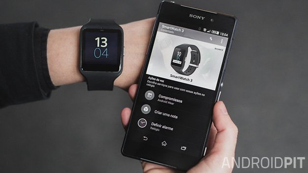 sony smartwatch 3 review technically the best visually the worst androidpit. Black Bedroom Furniture Sets. Home Design Ideas
