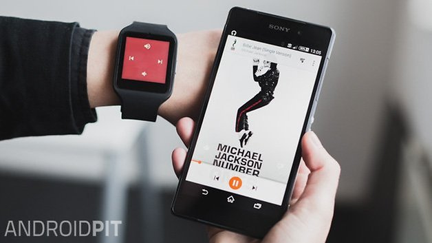 Sony smartwatch 3 review musica audio