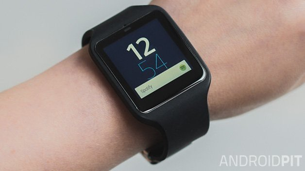 Sony smartwatch 3 review tela