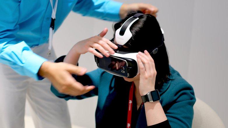 galaxy s6 VR test