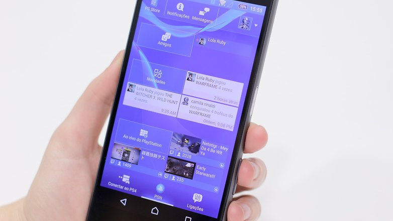 review xperia z5 PS4
