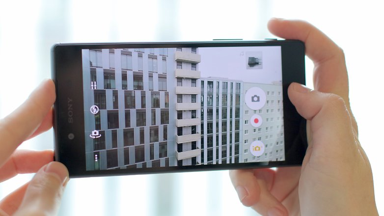review xperia z5 PT camera UI
