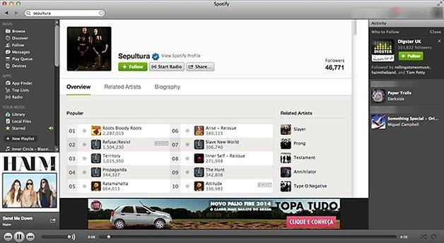 Spotify brasil pc