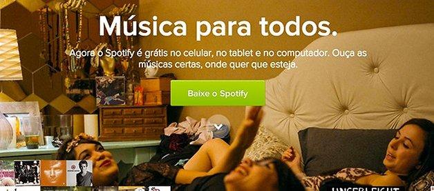 Spotify oficial brasil