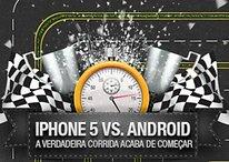 Infográfico iPhone 5 x Android: A verdadeira corrida acaba de começar