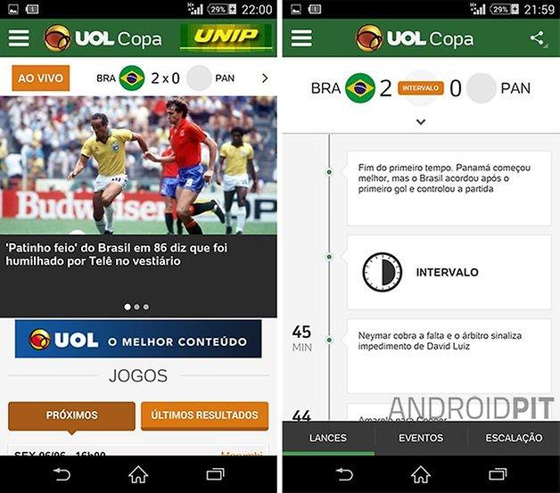 UOL Copa app