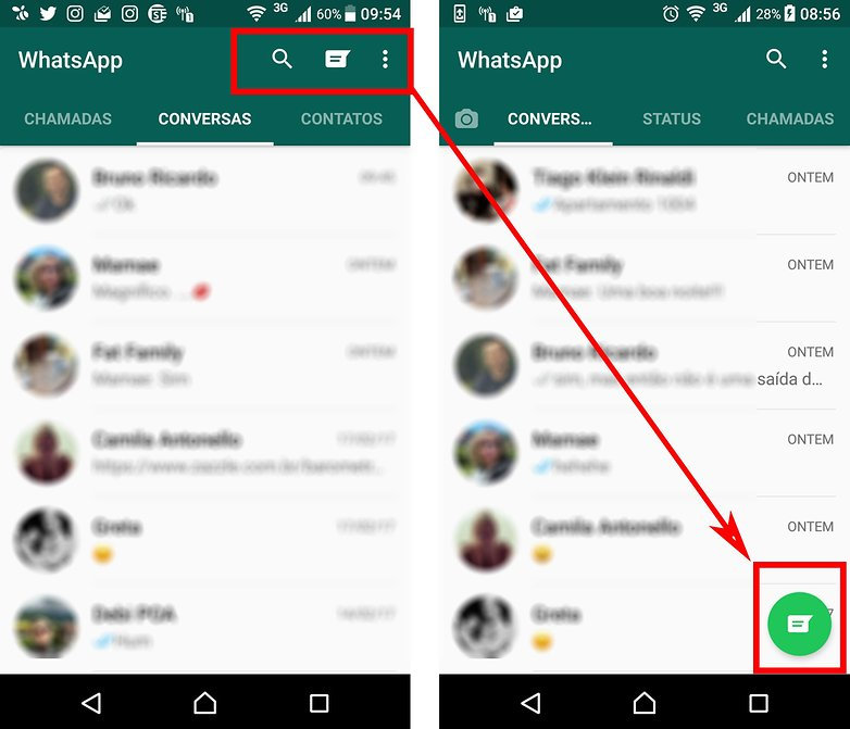 contatos whatsapp