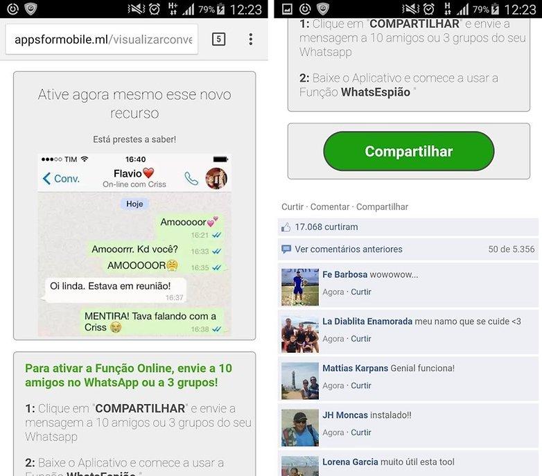 golpe whatsapp espiao
