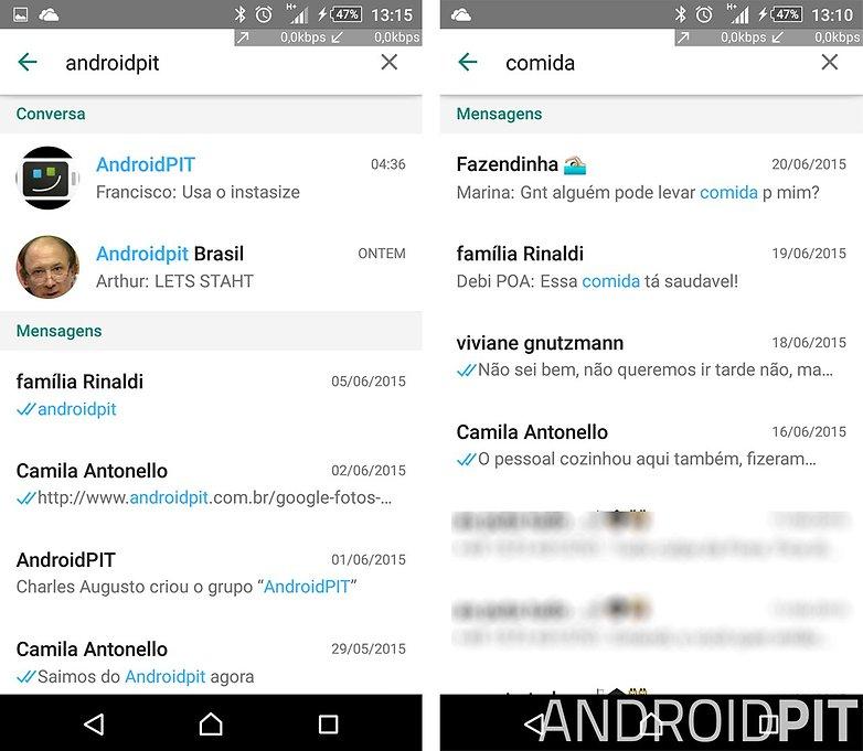 whatsapp busca conversas