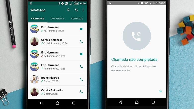 As videochamadas no WhatsApp estão sendo liberadas para ...