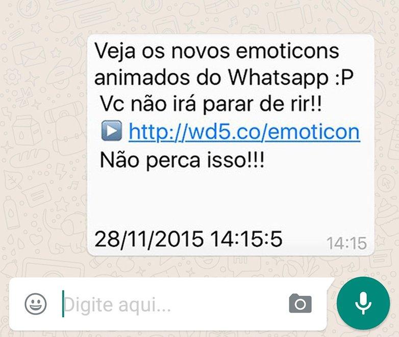 whatsapp emoticon virus