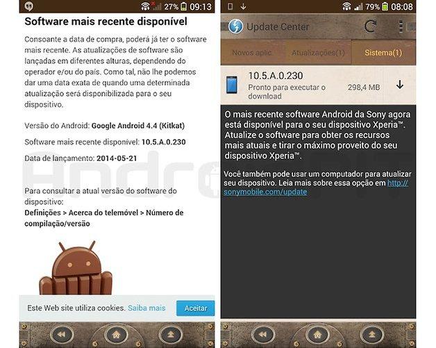 Xperia zq update kitkat