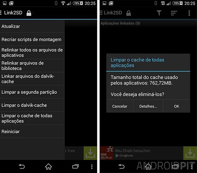 android link2sd whatsapp