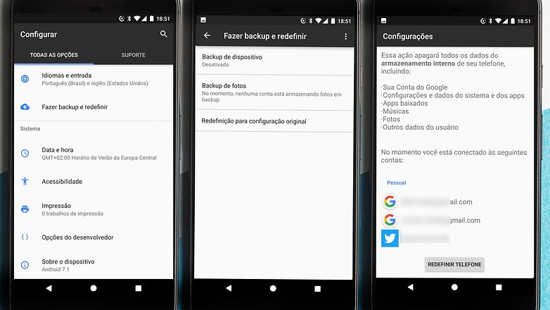 factory reset android tutorial