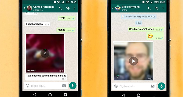 videos stream whatsapp