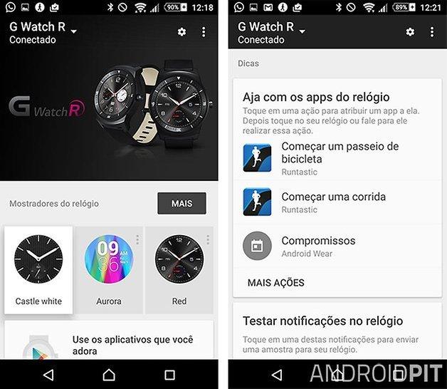 android wear app atualizado