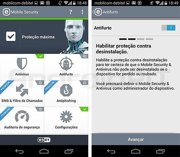 antifurto eset app