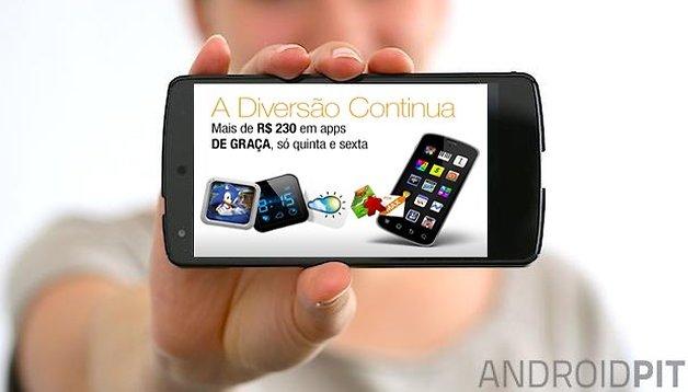 Amazon oferece mais de R$230 em Apps grátis