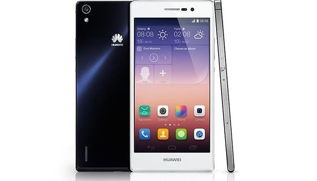 Huawei officially presents the 6.5 mm thin Ascend P7 [Update]