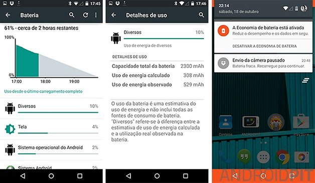 bateria android lollipop