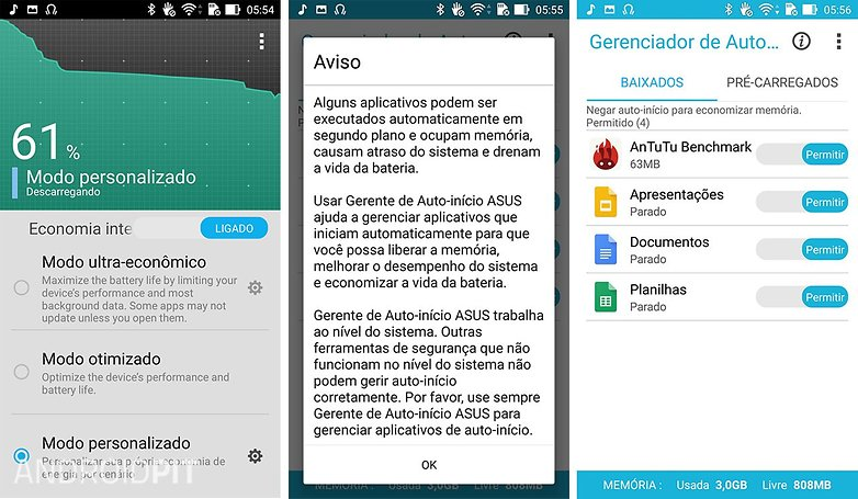 bateria software zenfone