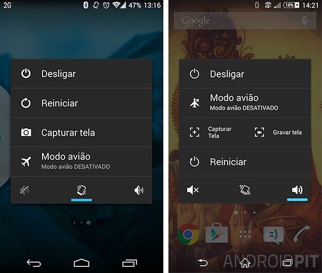 botao energia android lollipop