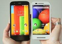 [Mise à jour] Le Moto E et le Moto G 4G/LTE sont maintenant officiels