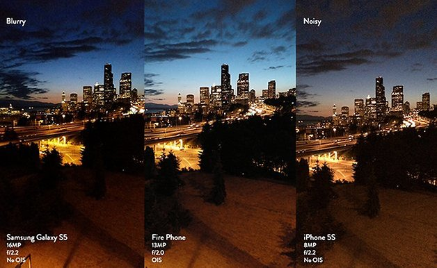 camera firephone comparison