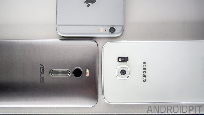 comparacao camera zenfone 2 galaxy s6 iphone 6 plus