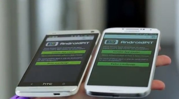 comparacao gs4 htc one