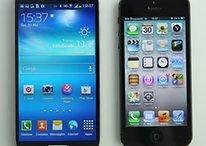 Un iPhone con pantalla grande y un Samsung metálico - ¿Mundo al revés?