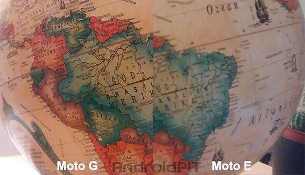 comparecao camera moto e moto g