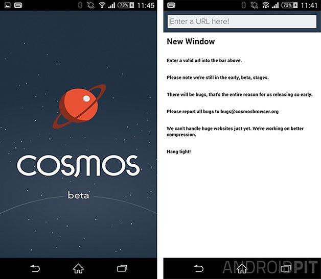 cosmos browser beta