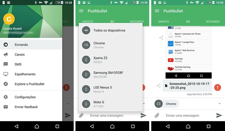 pushbullet app indicacao