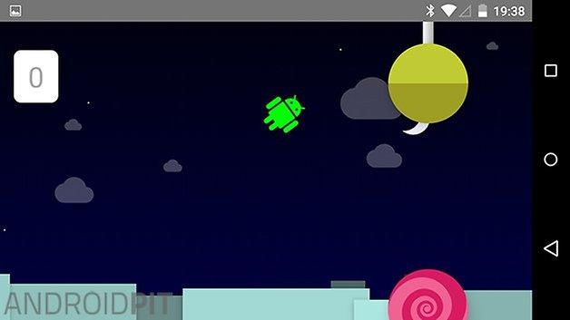 easter egg android lollipop