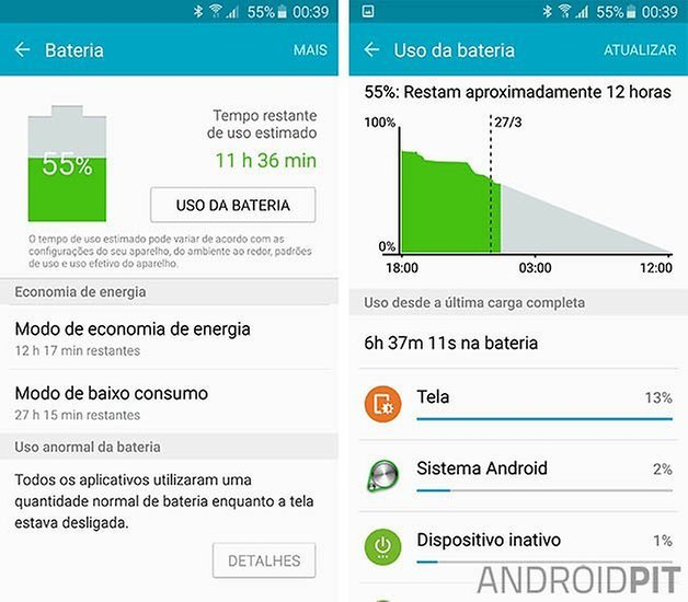 galaxy s6 edge bateria