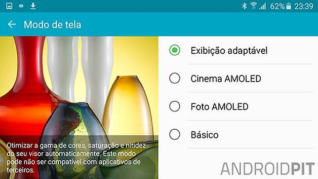 galaxy s6 edge tela