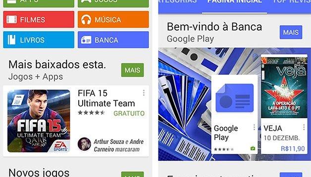 Já é possível comprar conteúdo na Google Play Banca no país