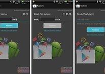 Como resgatar os cartões de presente da Google Play Store