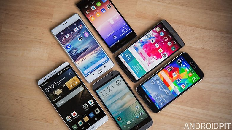 android smartphones 2015 melhores