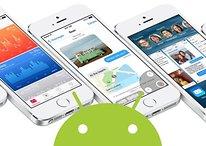 La androización de iOS llegó con el número 8