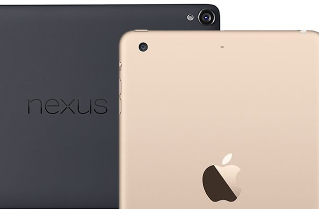 ipad mini 3 nexus 9 comparison