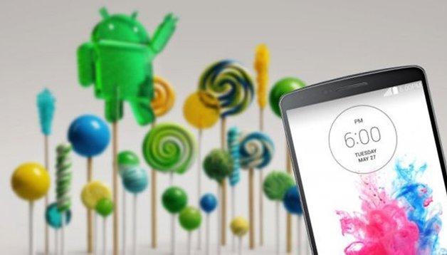 LG G3 : voici ce que donne Android 5.0 Lollipop sur Optimus UI !