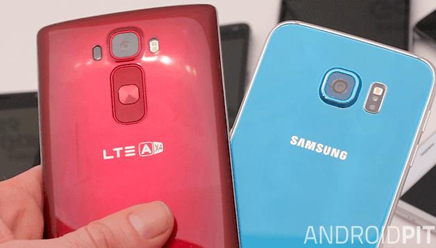 Comparamos a câmera do Galaxy S6 com a do LG G Flex 2: dois competidores equivalentes!
