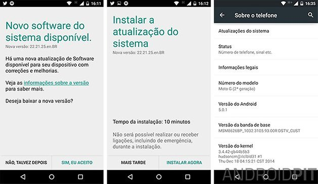 lollipop moto g 2014 android 5 0 1