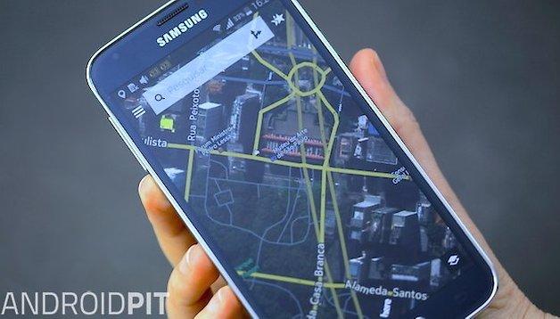 HERE Maps está disponível para linha Galaxy